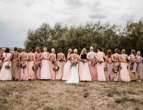 Rosy Vintage Hochzeit