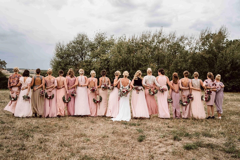 Rosy Vintage Hochzeit - Heiraten mit braut.de