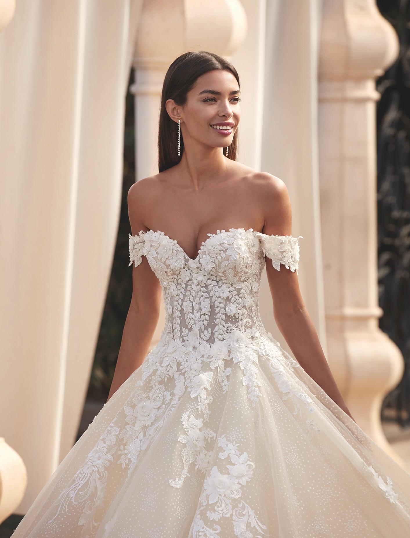 Brautkleid von Demetrios