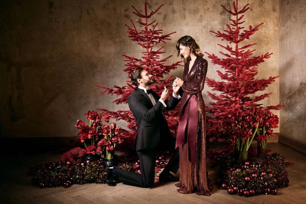 Verlobung an Weihnachten