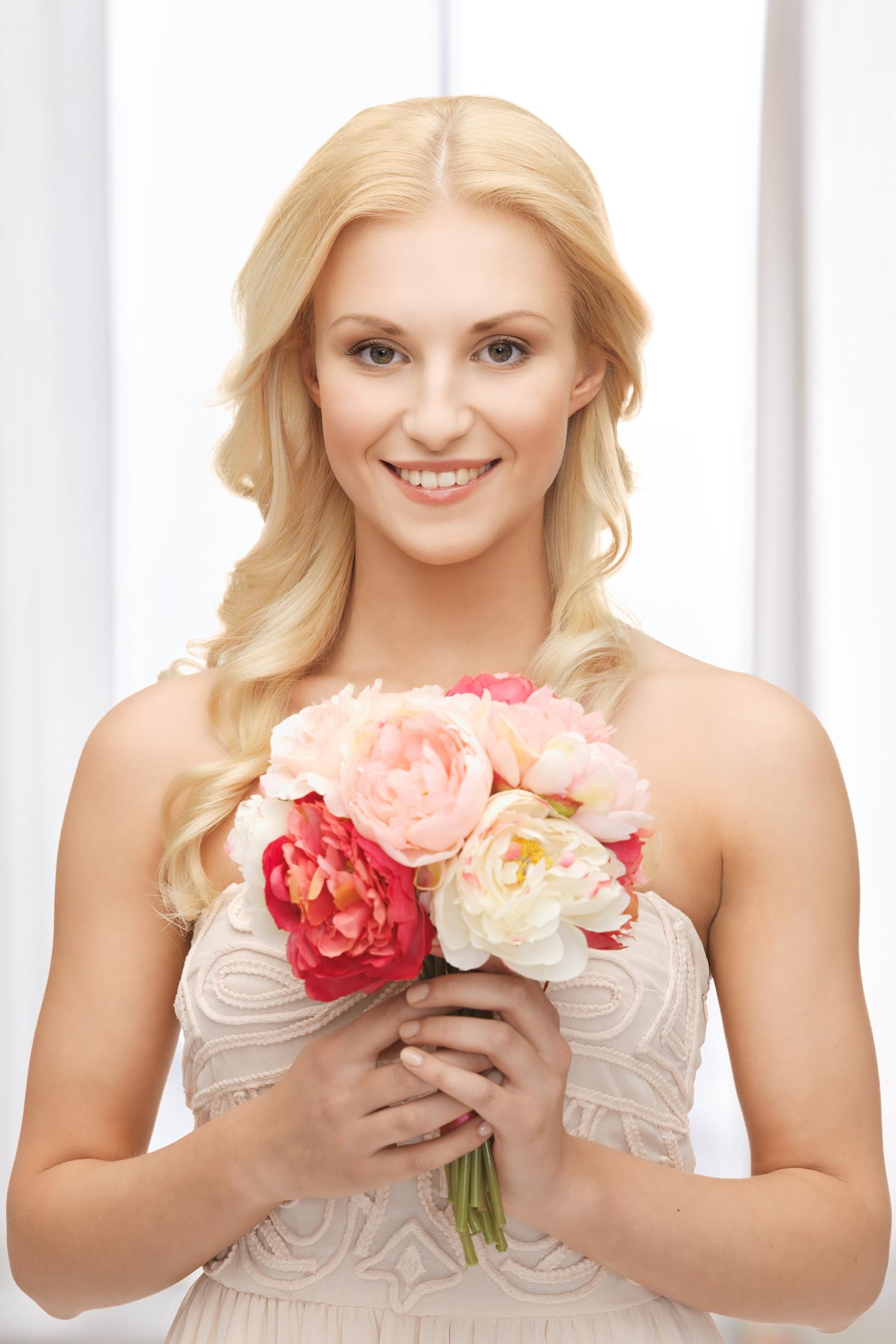Braut-Make-Up für den Frühlingstyp