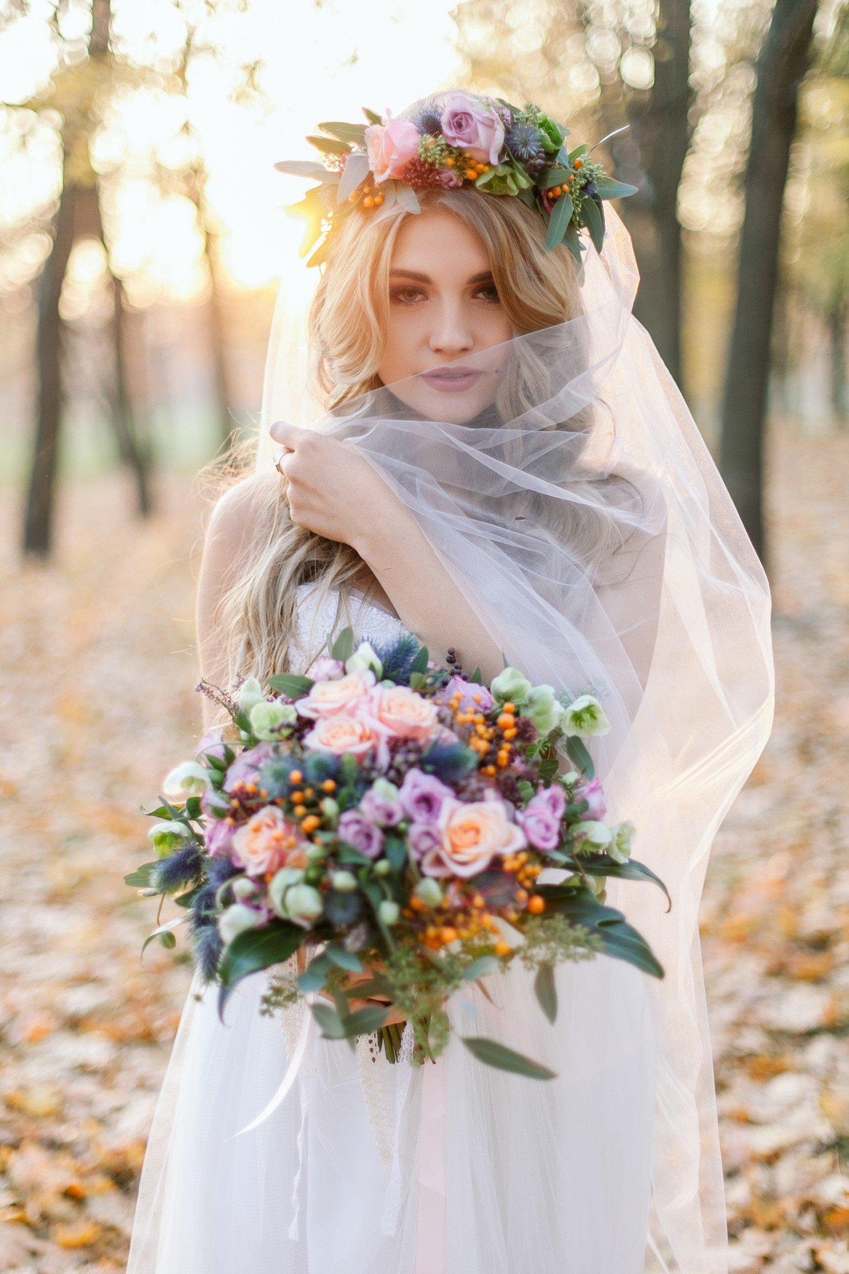 Braut-Make-Up für den Herbsttyp