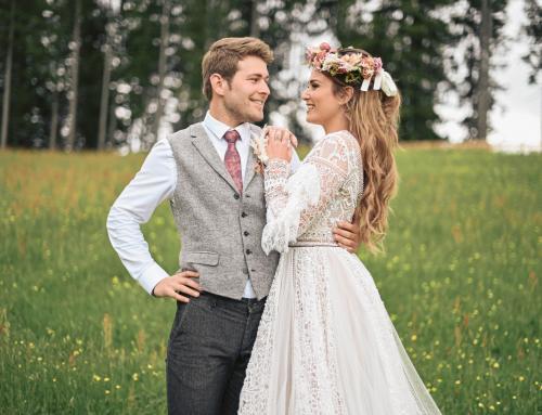 Hochzeit auf der Alm: Boho-Chic oder Hollywood-Glam?