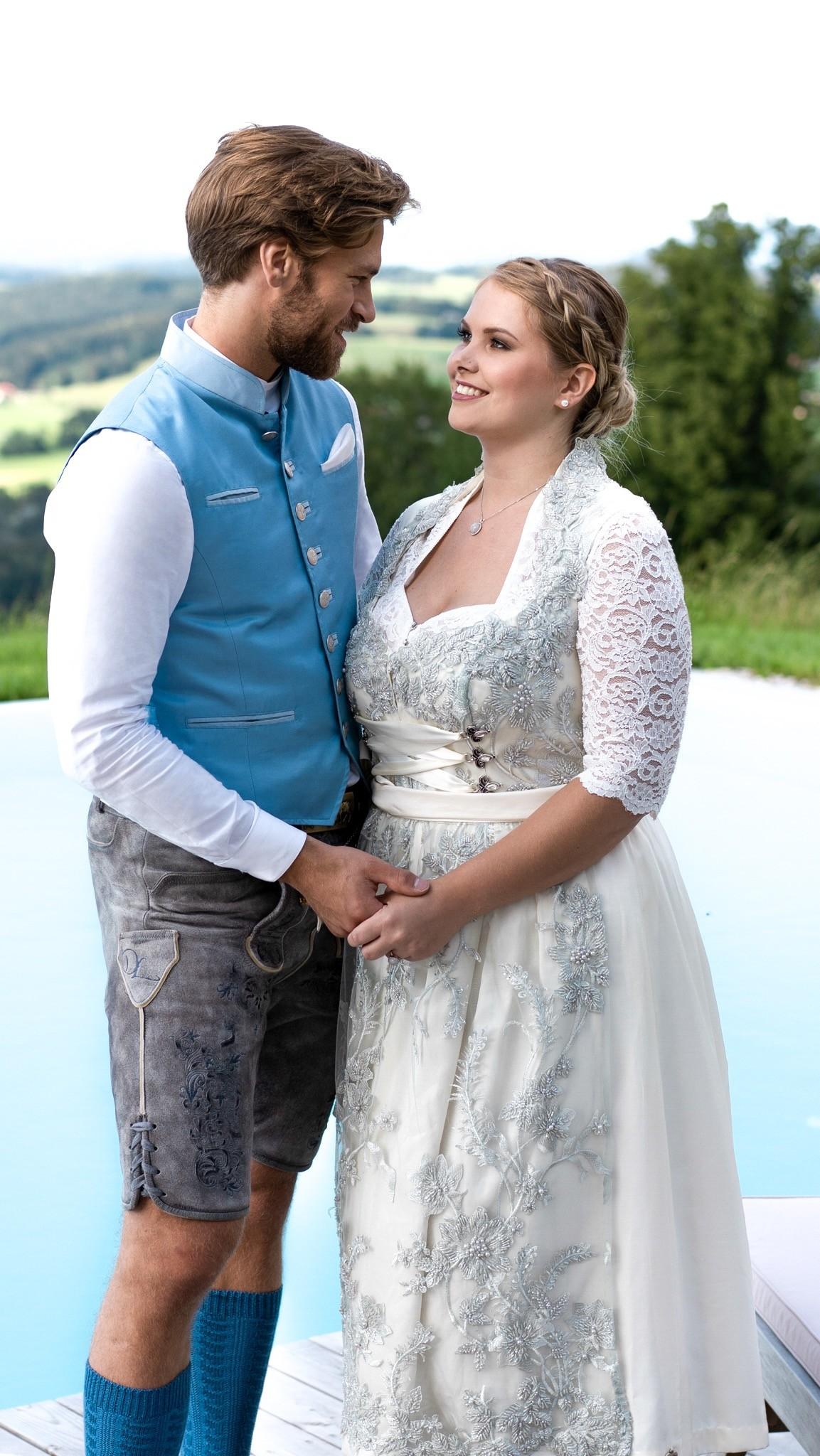 Klassisches Brautdirndl von Dirndl Liebe