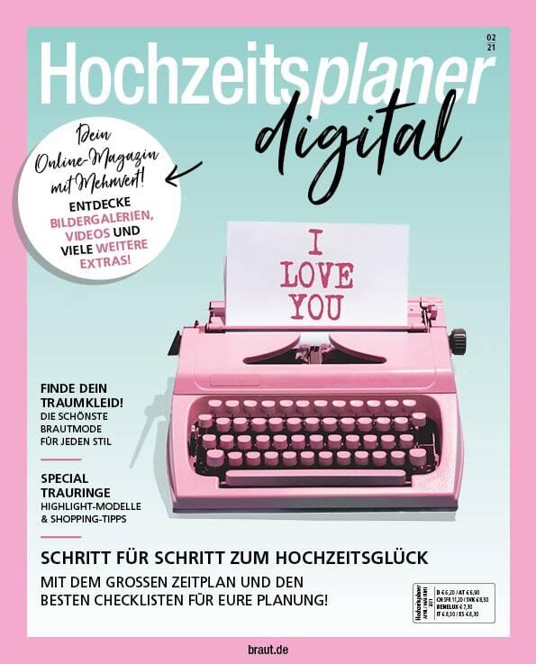 eMagazine Hochzeitsplaner digitale Ausgabe