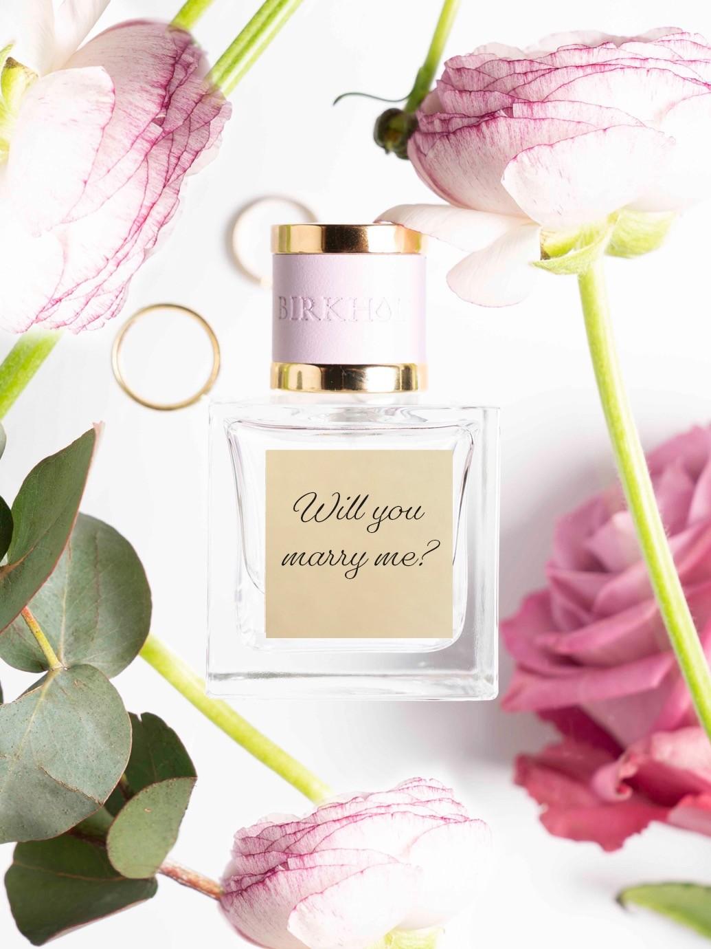 Parfüm für den Heiratsantrag von Birkholz