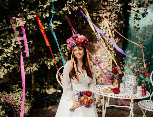 Heiraten mit Flower-Power und Folklore