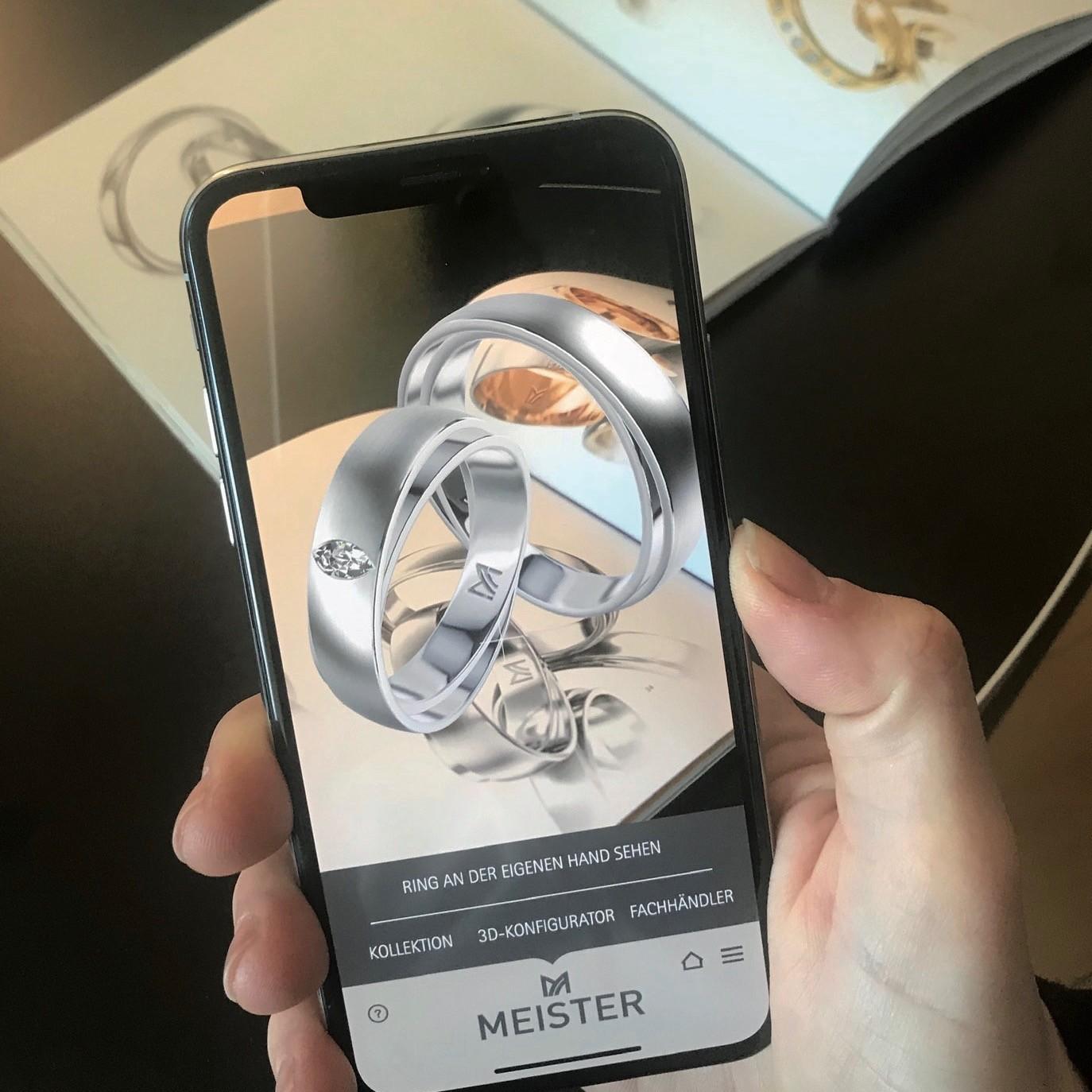"""""""Wedding Ring""""-App von Meister"""
