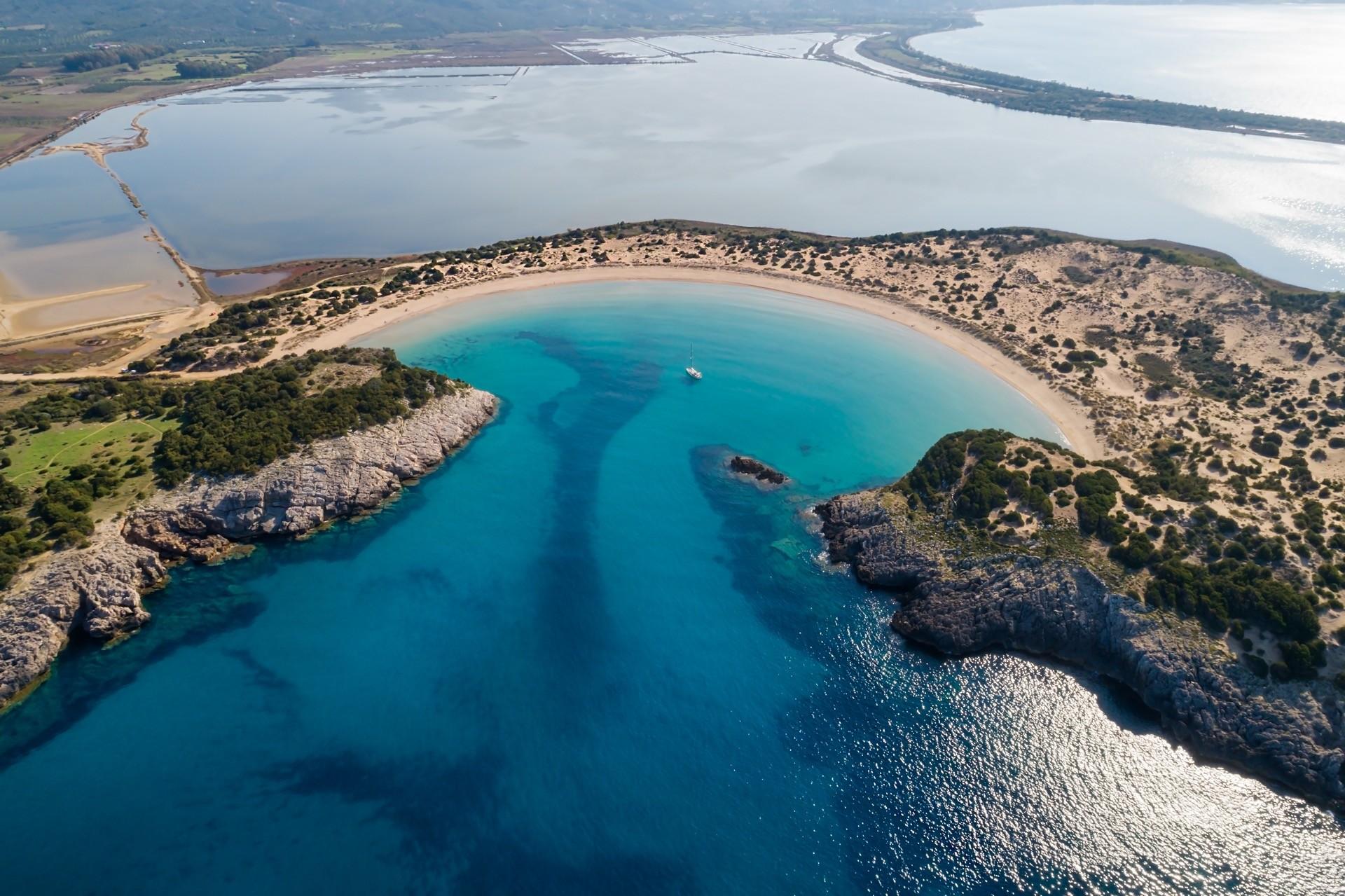 Voidokiliabucht, Peloponnes