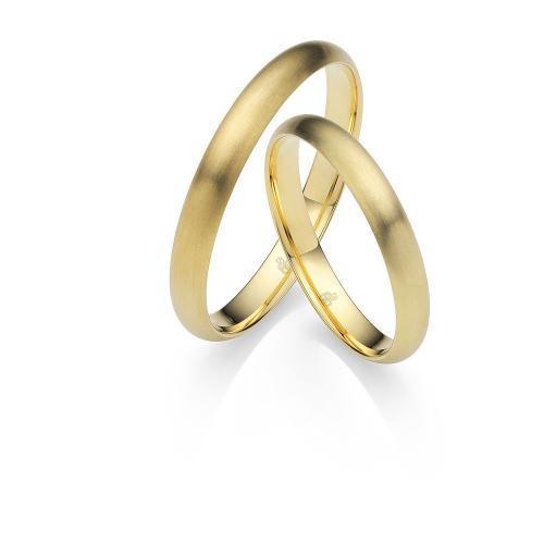 Rauschmayer – Schlichte Eheringe in Gelbgold