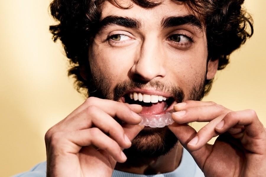 Unkomplizierte Zahnkorrektur von DrSmile