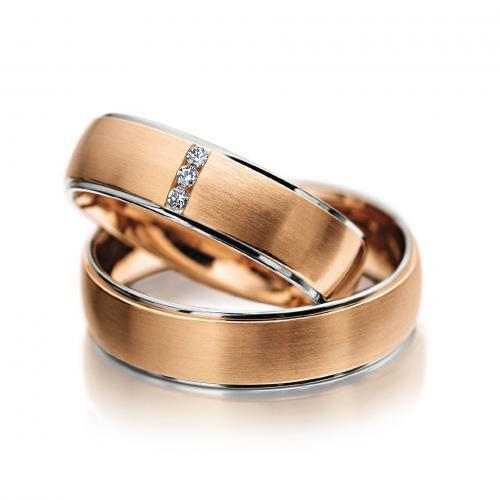 Meister – Eheringe in Rosé- und Weißgold