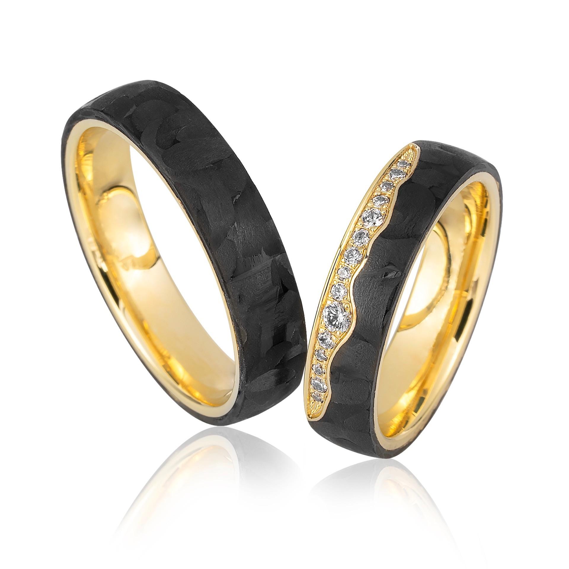 Carbon-Ringe von Saint Maurice