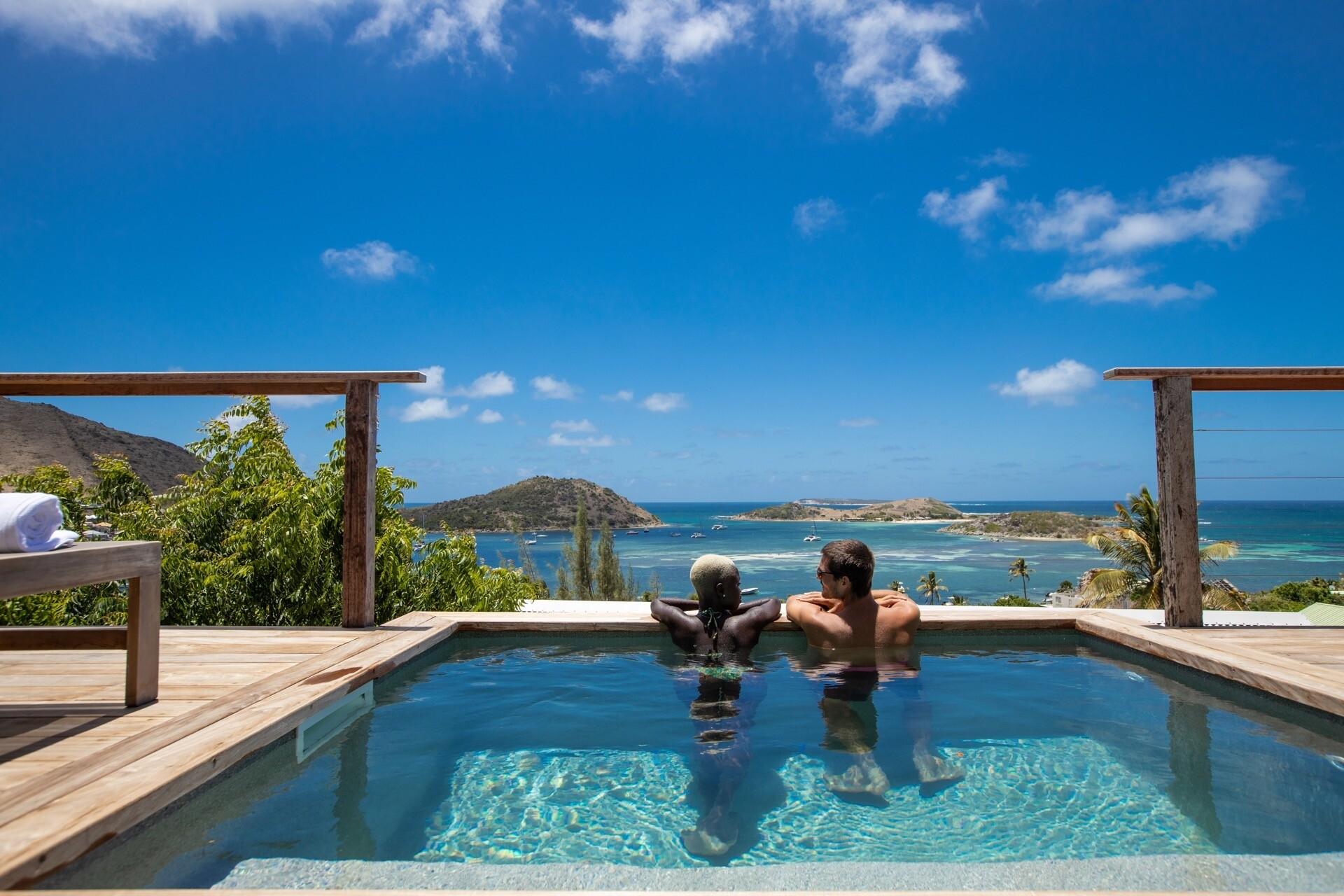 Flitterwochen auf der Karibik-Insel St. Martin