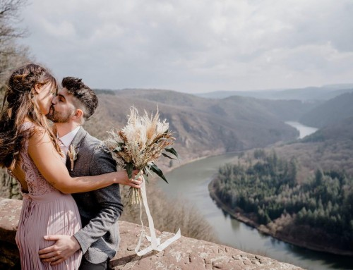 Outdoor-Wedding: Heiraten an der Saarschleife