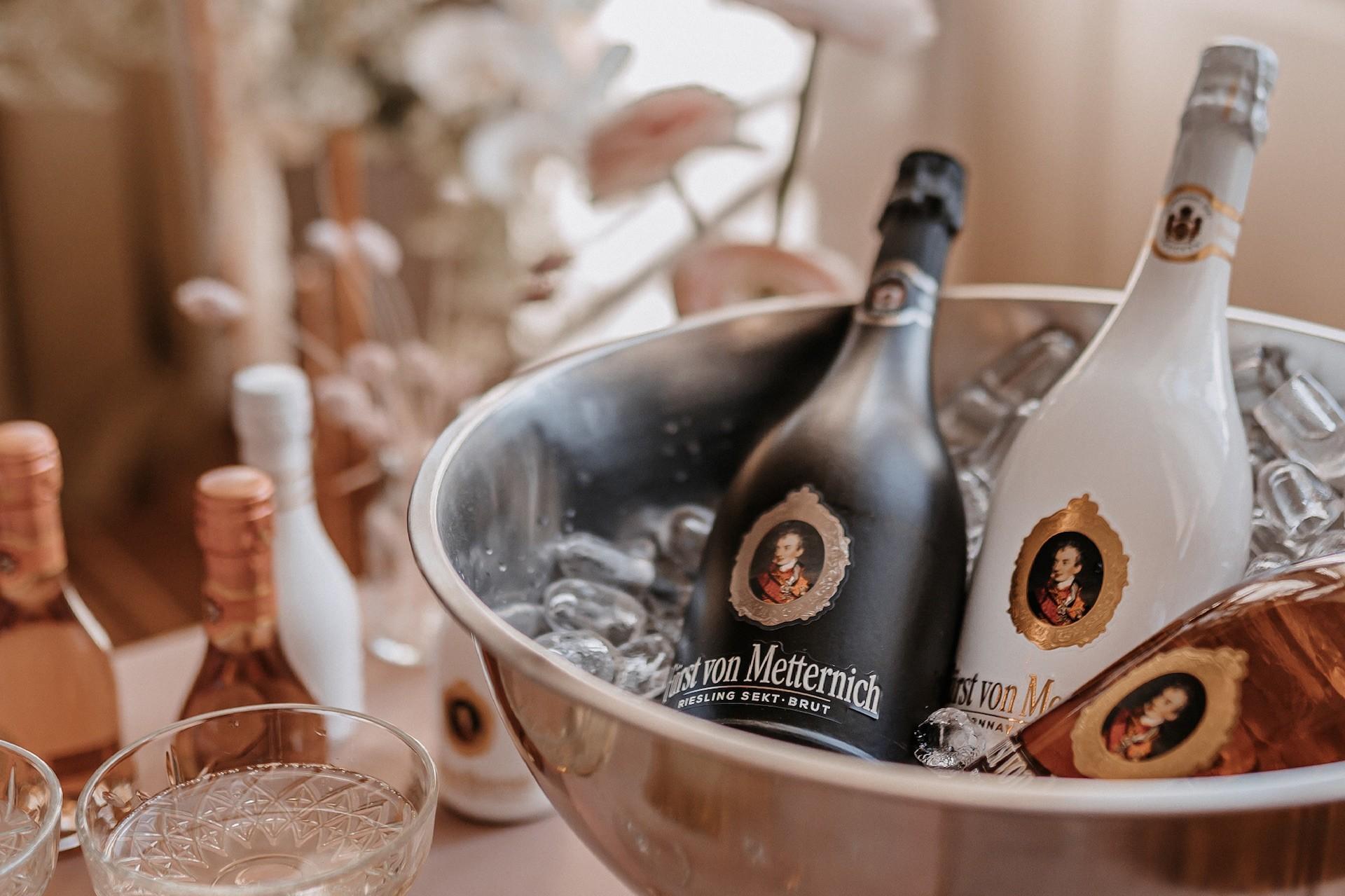 Hochzeitsduo auf Eis von Fürst von Metternich