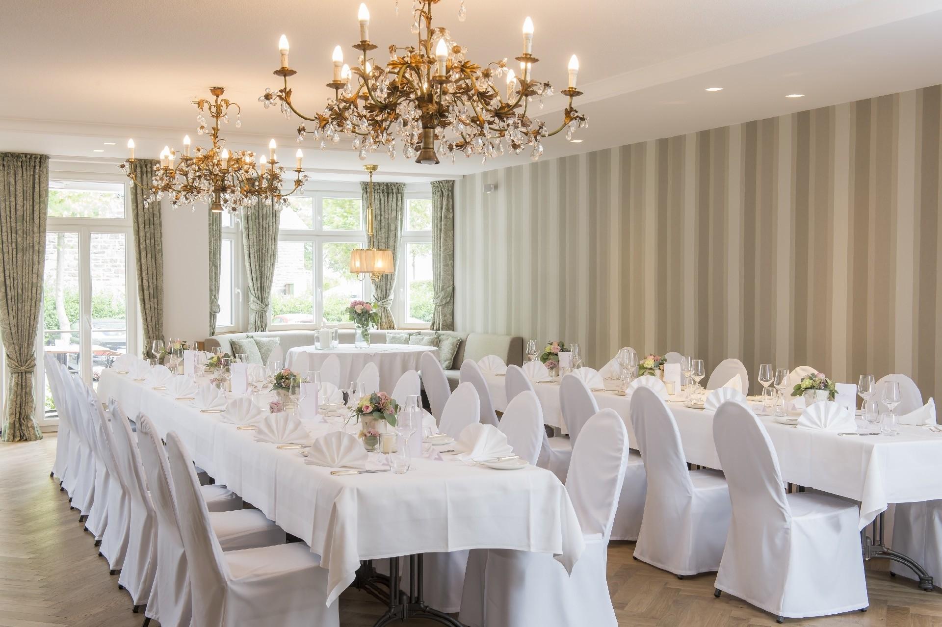 Hochzeitssaal im Hotel Störmann