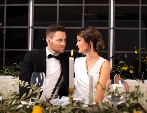 Romantische Tiny Wedding im Industrial Style