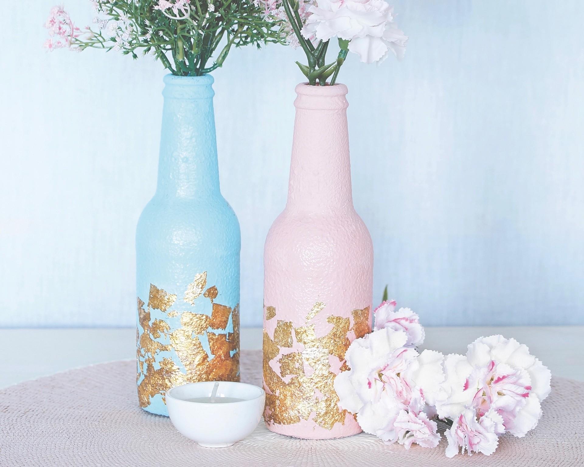 Deko-Vasen selber machen