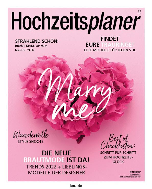 Magazin Hochzeitsplaner Ausgabe 04, 2021