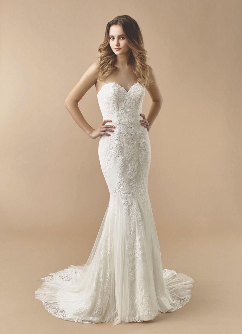 Brautkleid mit Sweetheart-Ausschnitt von Beautiful Bridal