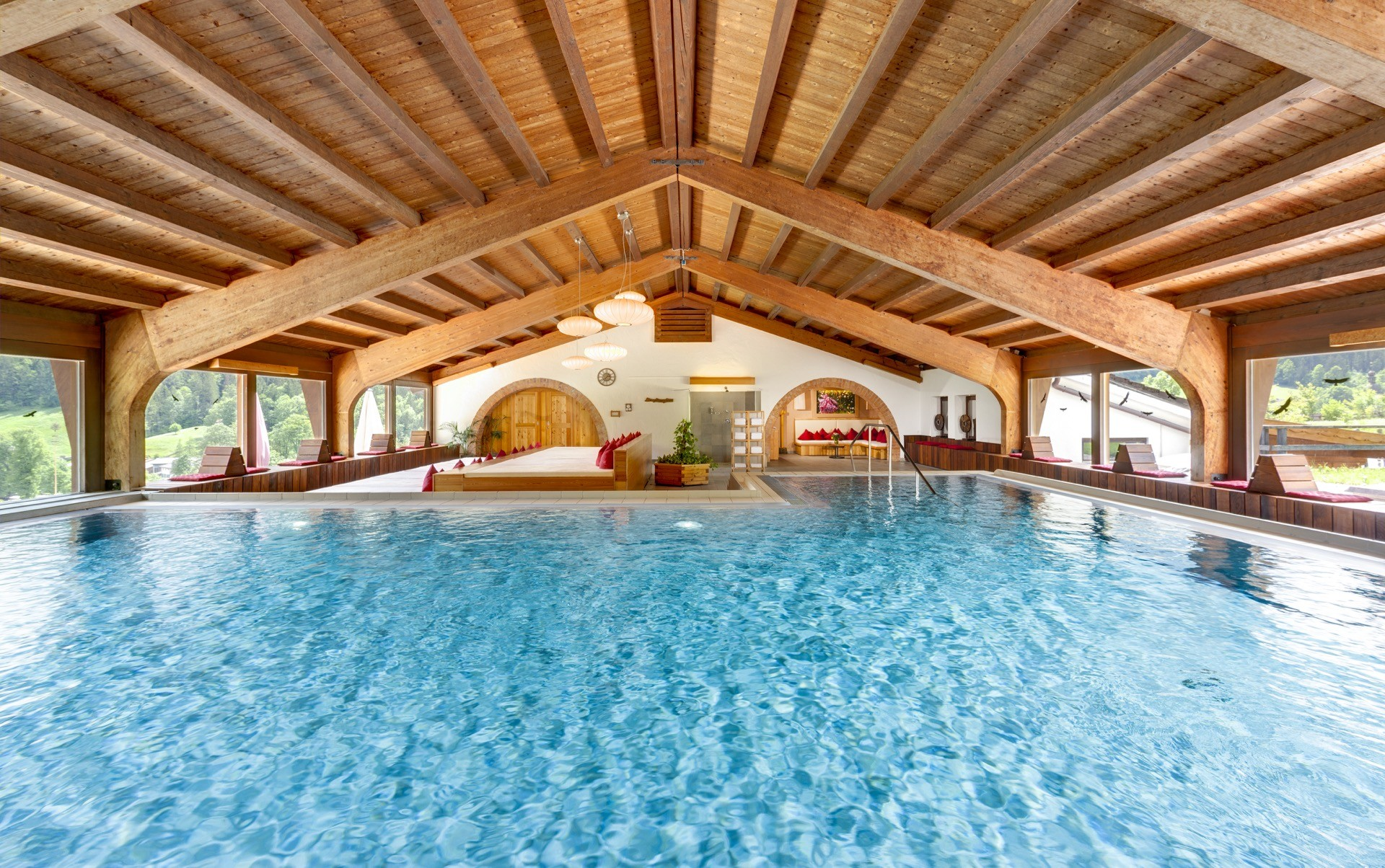 Berghotel Rehlegg Indoor-Pool