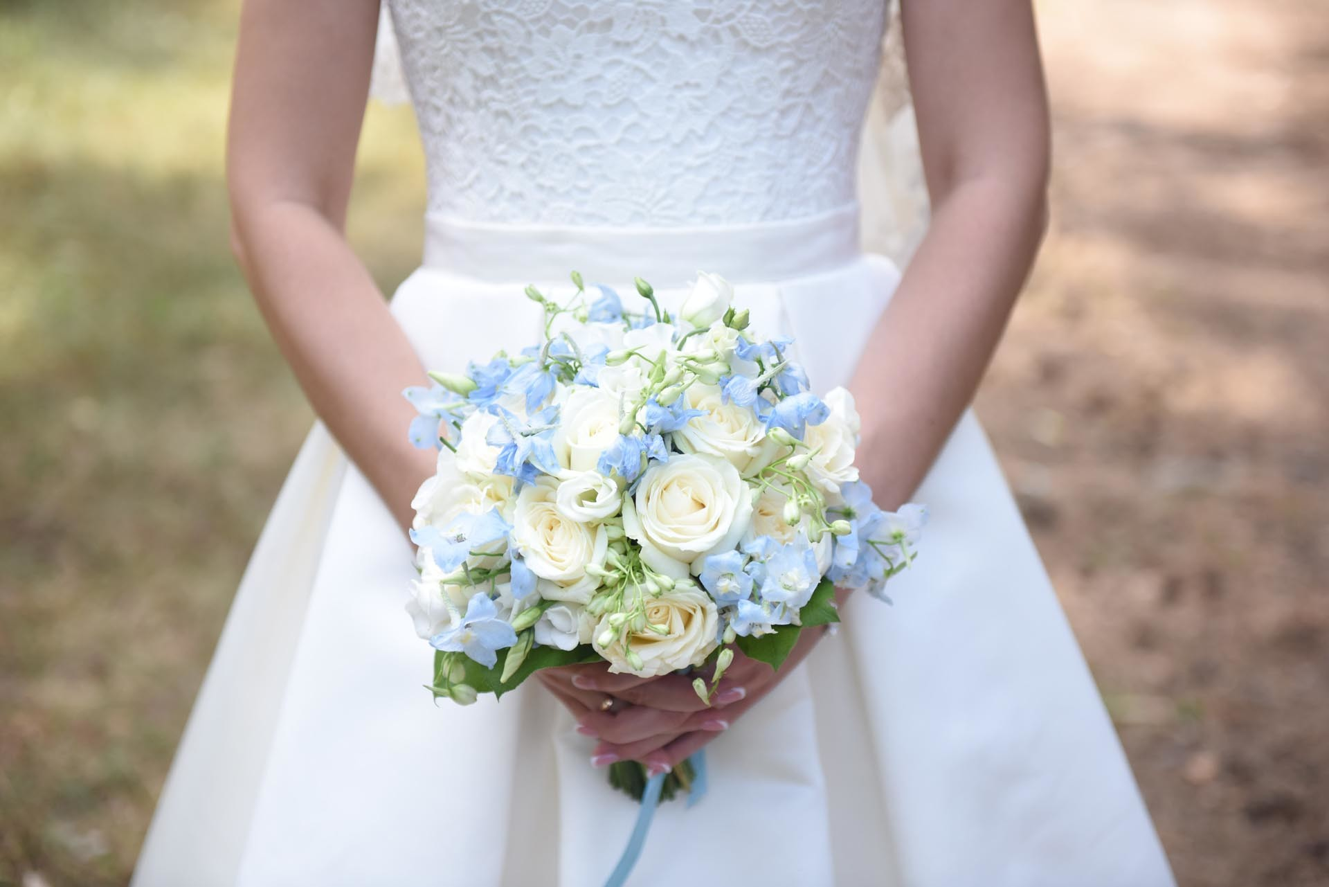 Brautstrauss In Blau Und Weiss Heiraten Mit Braut De