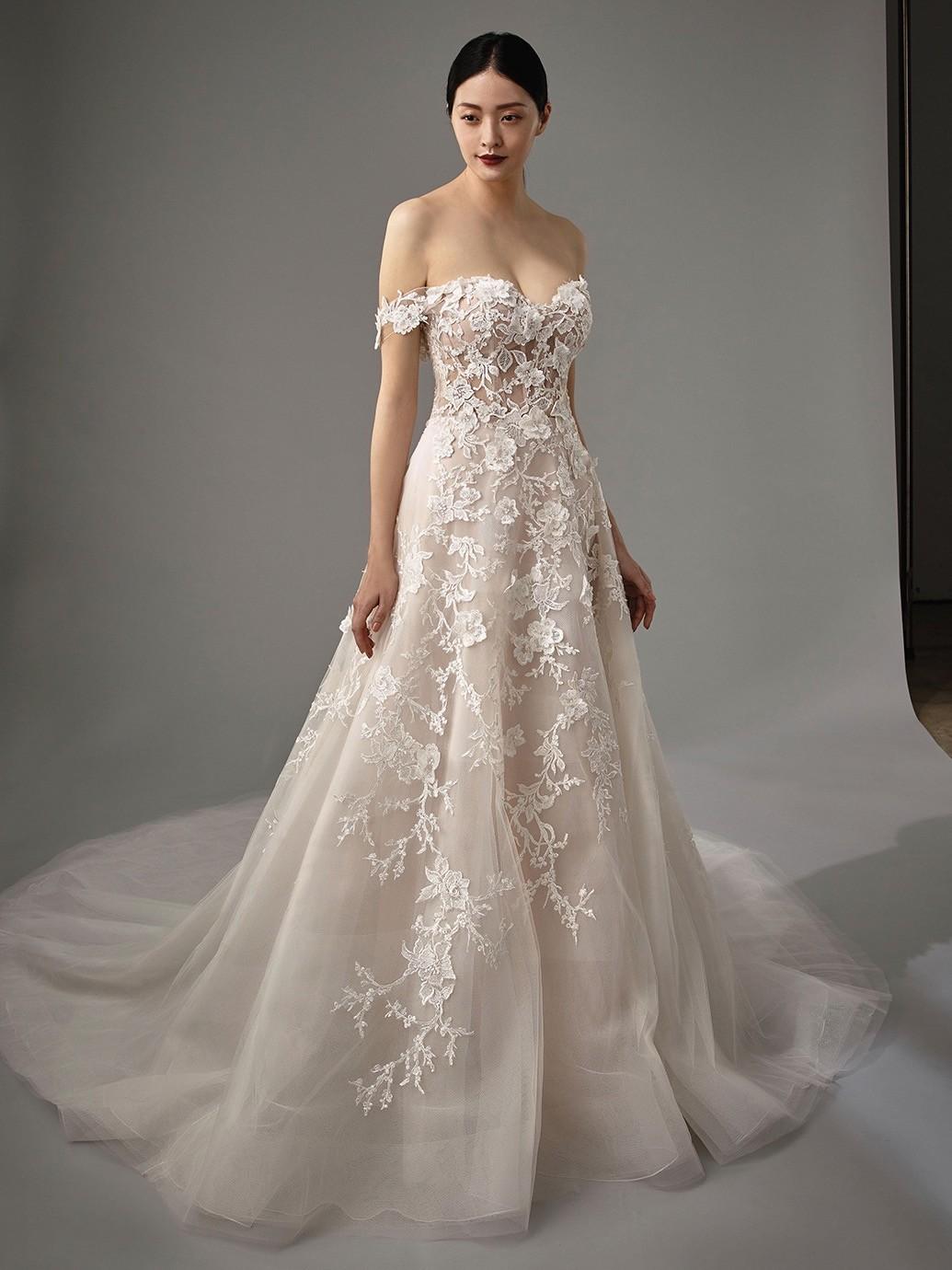Brautkleid Modell Misti aus der Blue by Enzoani Kollektion 2020