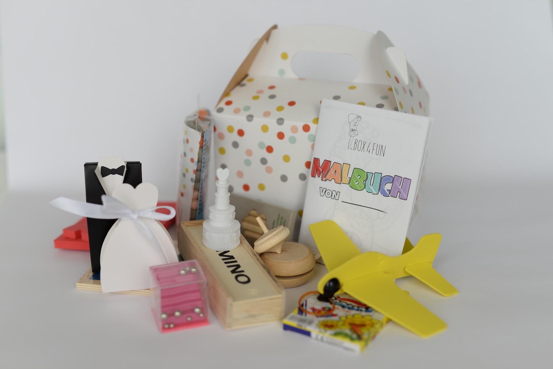 Box4Fun Hochzeitsbox für Hochzeitsgäste