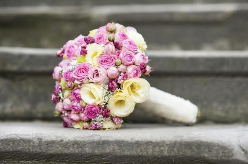 Brautkugel in Pink
