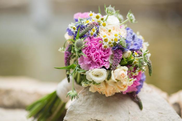 bunter Brautstrauß