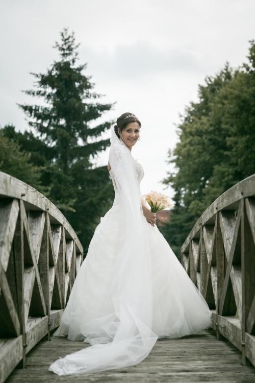 Brautstrauß ausrosa Callas