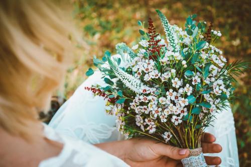 Hochzeitsstrauß mediterran