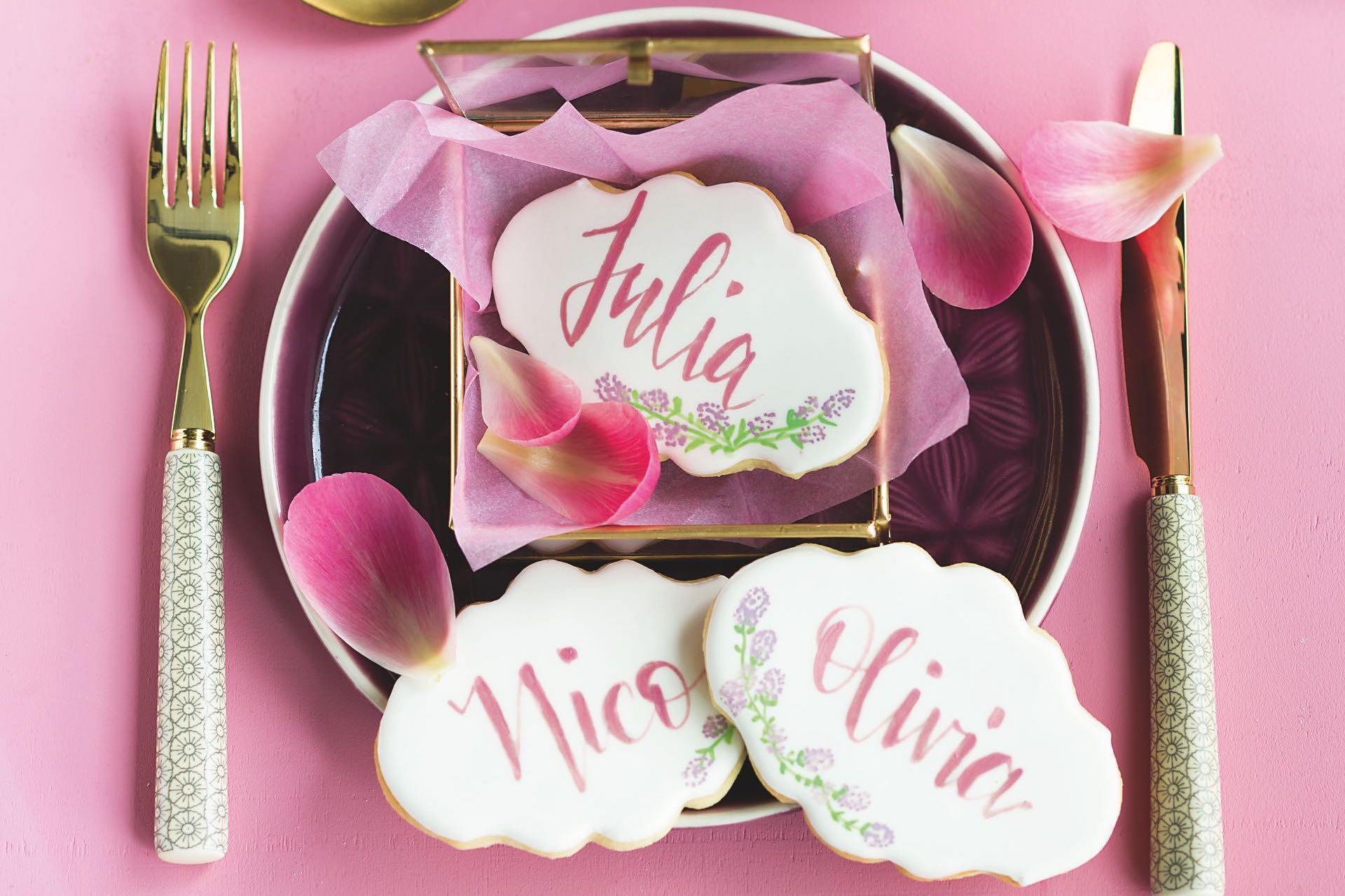 Cake Lettering von Stephanie Juliette Rinner