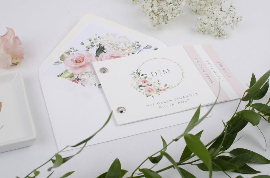 Hochzeitspapeterie von carinokarten