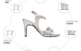 Schuhe Hochzeit - individuelle Absatzhöhen