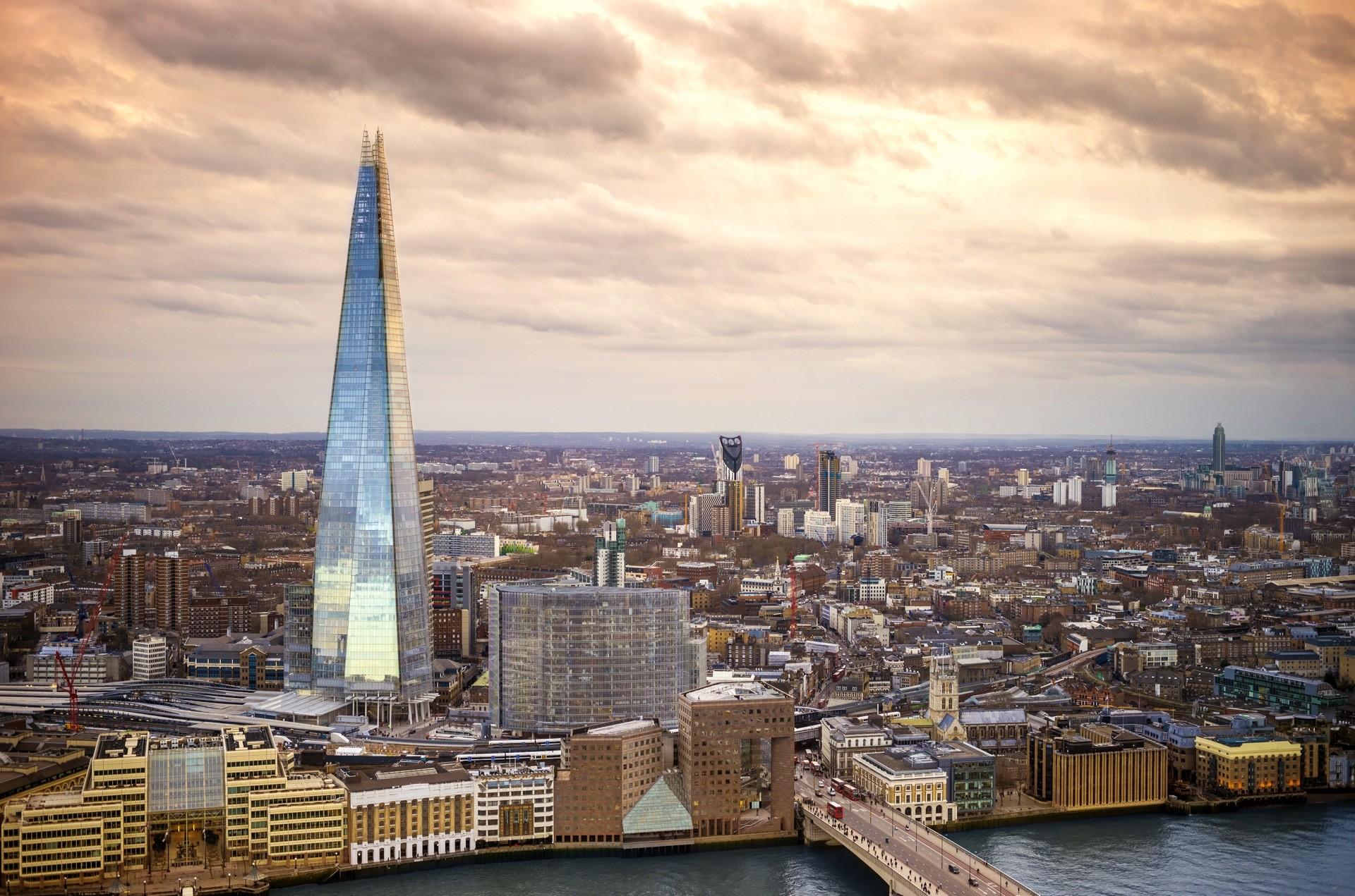 Heiratsantrag auf dem Londoner Shard of Glass