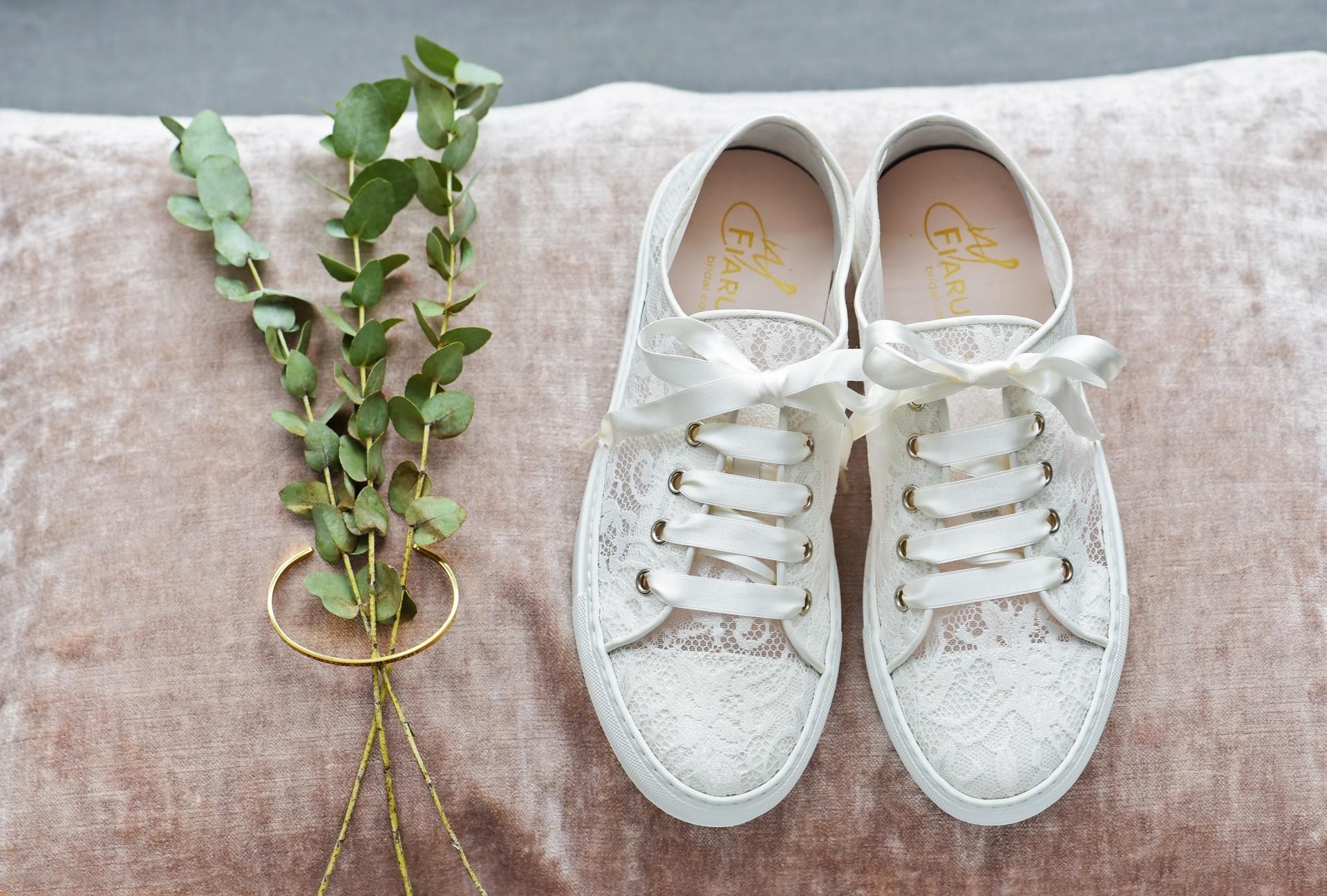Hochzeits-Sneaker Nelli von Elsa Coloured Shoes