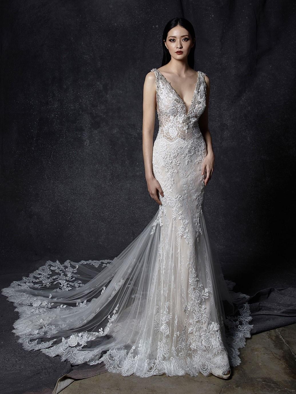 Brautkleid Modell Ocilia aus der Enzoani Kollektion 2020