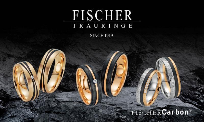 Fischer Trauringe Kollektion Fischer Carbon