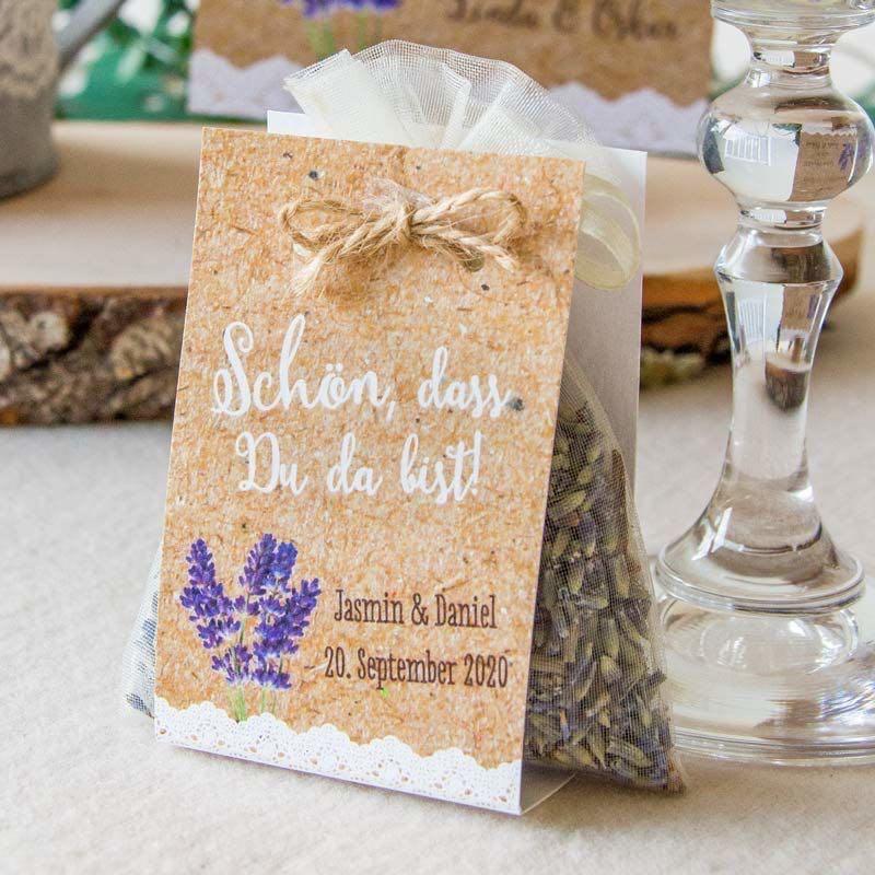 Gastgeschenke von Hochzeitsplaza