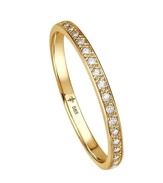 Memoire Ring von Giloy in Gelbgold