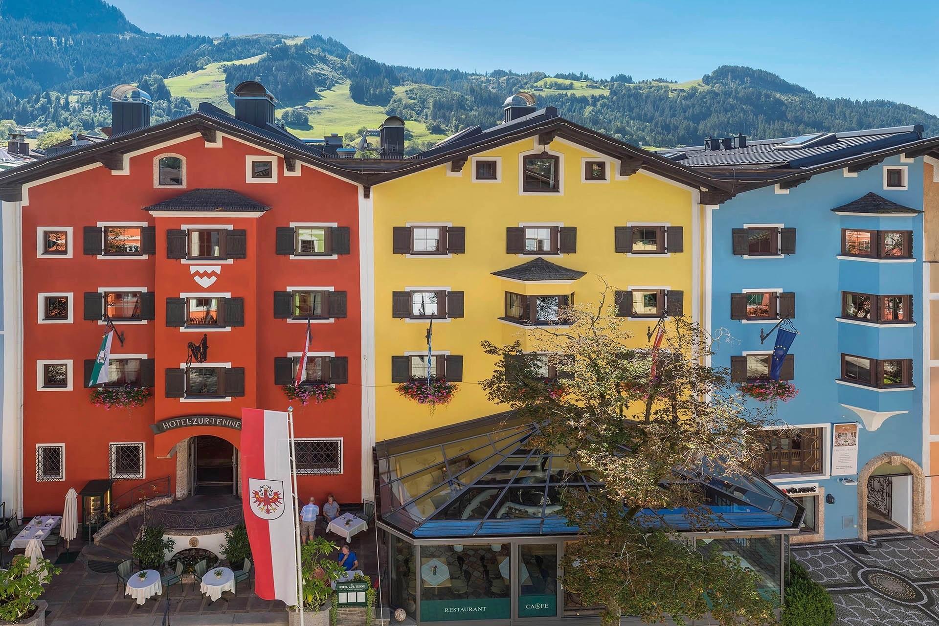 Das Hotel Zur Tenne in Kitzbühel