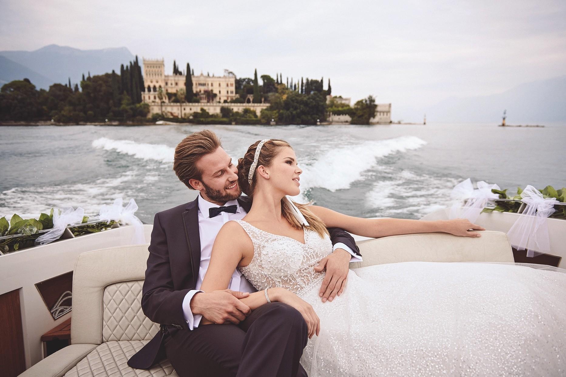Brautkleid von Weise, Anzug von Digel