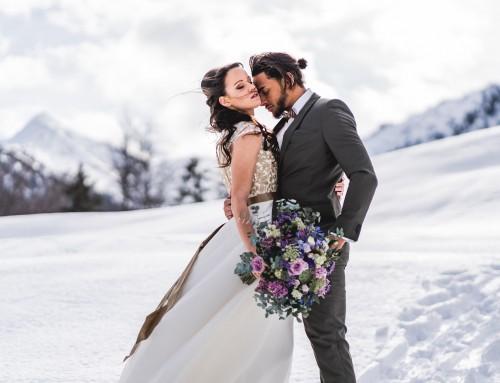 Style Shooting: Hochzeit im Winter Wonderland