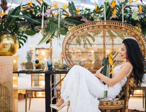 Hochzeit mit Dschungel-Glamour
