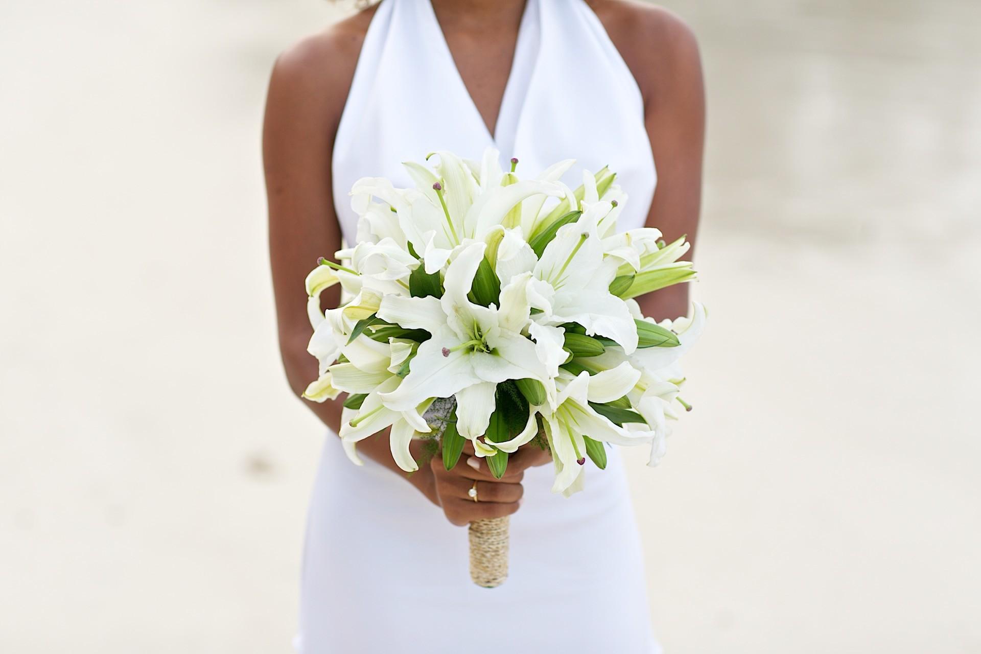Hochzeitsblume Lilie