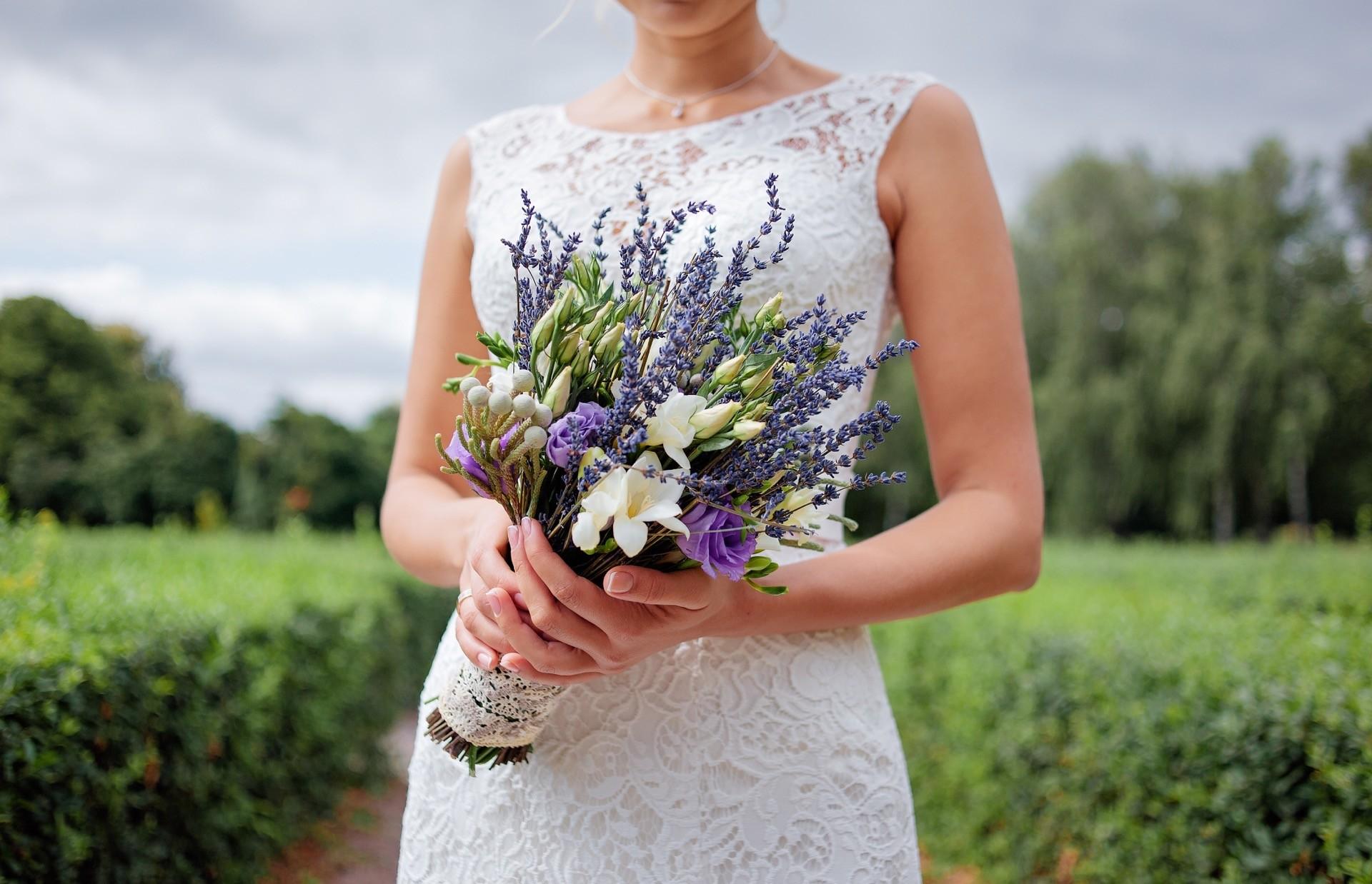 Hochzeitsblume Lavendel