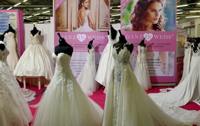 Klassisch weiße Brautkleider