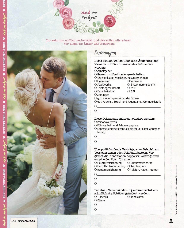 Verliebt Verlobt Verheiratet Das Kommt Nach Der Hochzeit An Aufgaben Auf Euch Zu Heiraten Mit Braut De